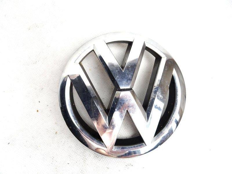 front grille center badge emblem chrome vw touran 1t0853601e 8 karosserie 853 attrappe. Black Bedroom Furniture Sets. Home Design Ideas