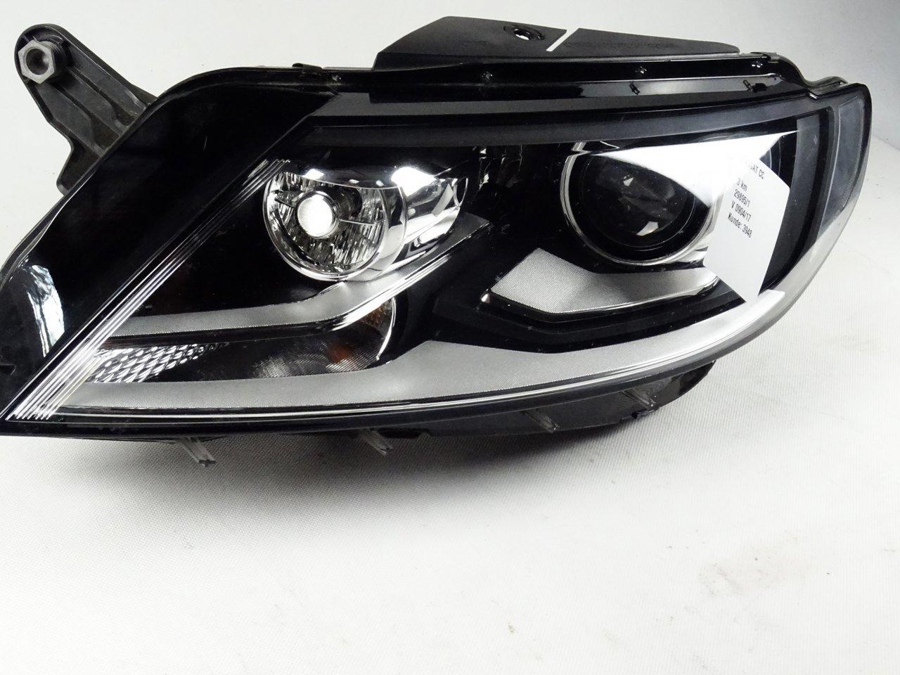 headlight light left xenon led vw cc 3c8941031g 8k0941597e. Black Bedroom Furniture Sets. Home Design Ideas