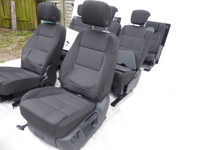 seat sitz complete set vw sharan 2010 7 seats 8. Black Bedroom Furniture Sets. Home Design Ideas