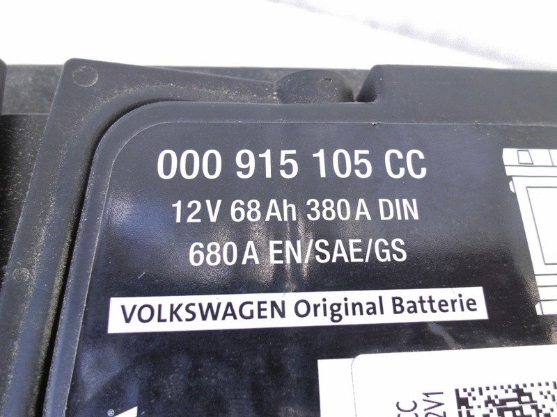 battery 68ah 380a vw audi 000915105cc 9 elektronik. Black Bedroom Furniture Sets. Home Design Ideas