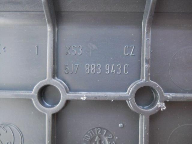 COVER SEAT SKODA YETI ROOMSTER 5J7883943C