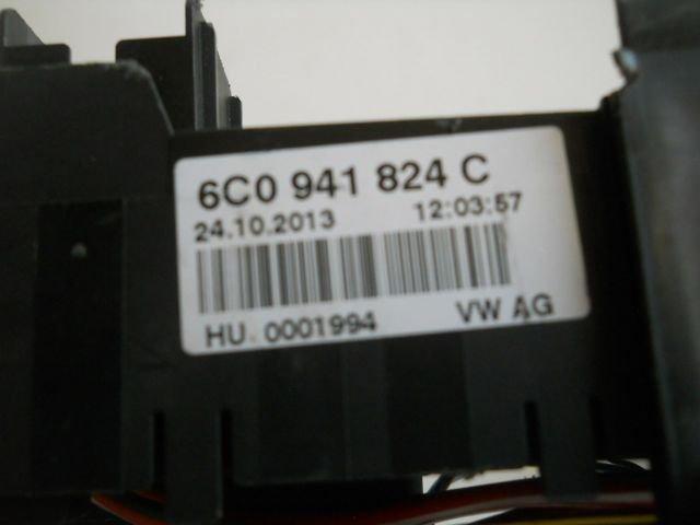 fuse holder box socket vw polo 6c0941824c