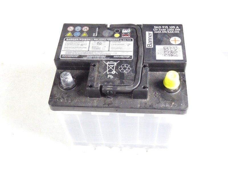 batterie 12v 44ah 220a din 4813 360a en sae gs 5k0915105a 9 elektronik 915 autobatterie. Black Bedroom Furniture Sets. Home Design Ideas