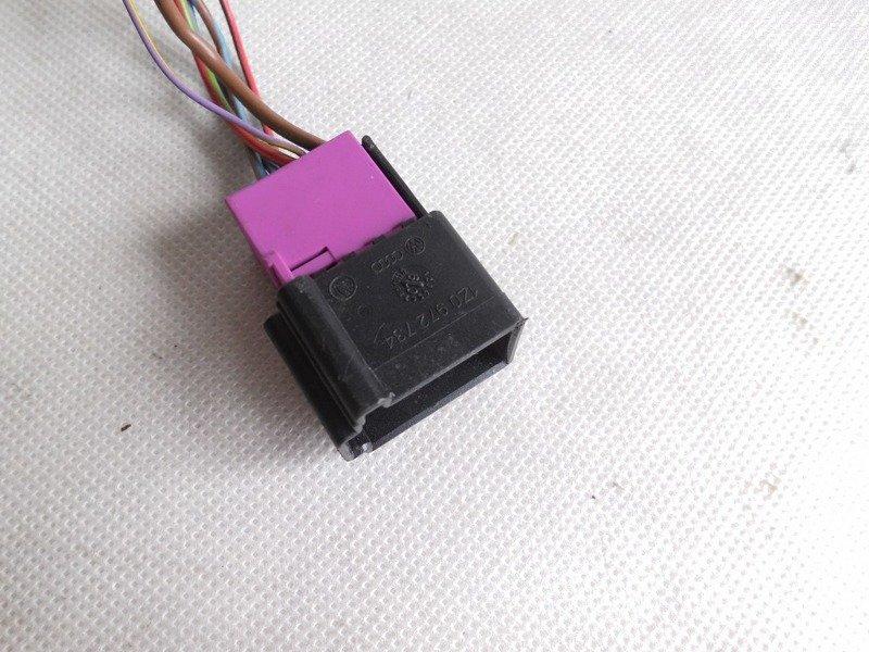 elektronischer w rfel stecker connector plug skoda octavia. Black Bedroom Furniture Sets. Home Design Ideas