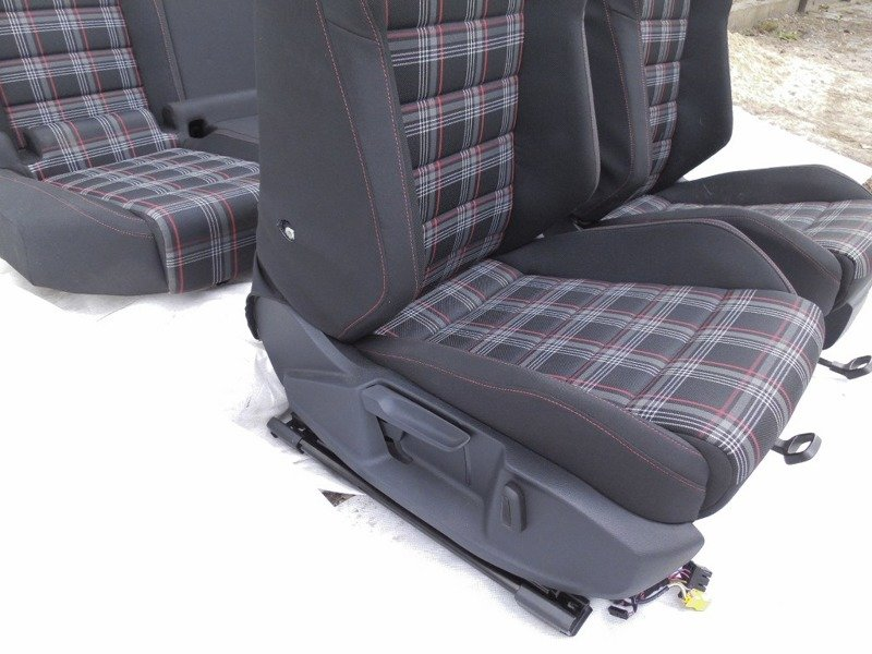 sitze sitz set vw golf vii gti. Black Bedroom Furniture Sets. Home Design Ideas