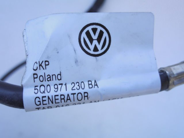 leitungssatz batterie vw golf vii 7 audi a3 8v 5q0971230ba. Black Bedroom Furniture Sets. Home Design Ideas