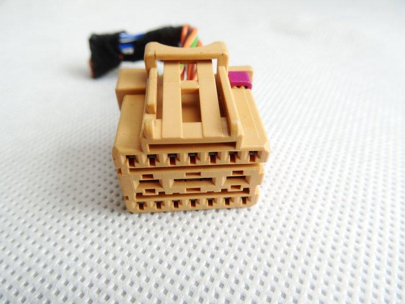 ELEKTRONISCHER WÜRFEL STECKER CONNECTOR PLUG VW AUDI SKODA SEAT 8K0972483A