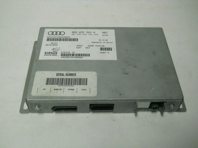 CONTROL UNIT FOR RADIO VW AUDI SKODA 8E0035593M