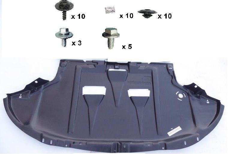 ENGINE COVER UNDERTRAY+FITTING KIT DIESEL PETROL  AUDI A4 2001-2008 B6 B7