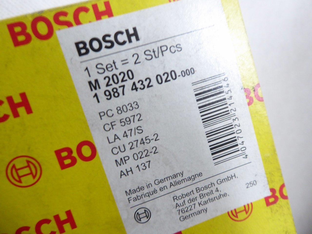 Innenraumluft 1 987 432 020 für MERCEDES-BENZ BOSCH Filter