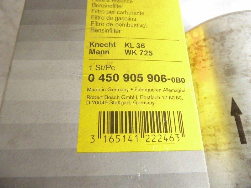 Kraftstofffilter WK 725 MANN-FILTER