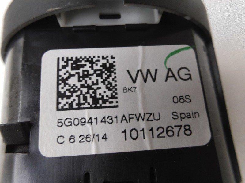 LICHTSCHALTER SCHALTER LICHT VW POLO 5G0941431AF | (9) Elektronik ...