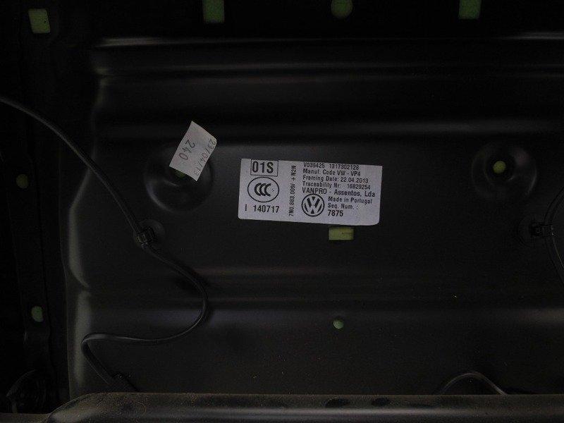 SITZ BEIFAHRER HINTEN CENTRAL VW SHARAN 7N 2010-   (8) Karosserie ...